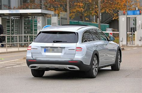 2020 Mercedes E Class by New 2020 Mercedes E Class Estate Facelift Spotted Testing