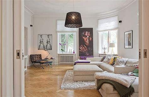 flat interior design interesting flat in stockholm combining a multitude of styles