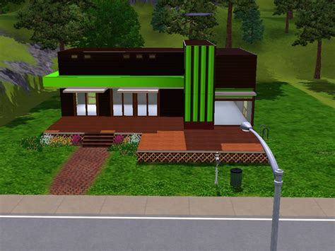 modern house plans sims 3 nice sims 3 small modern house best house design