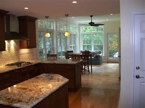 kitchen renovation  sunroom addition traditional