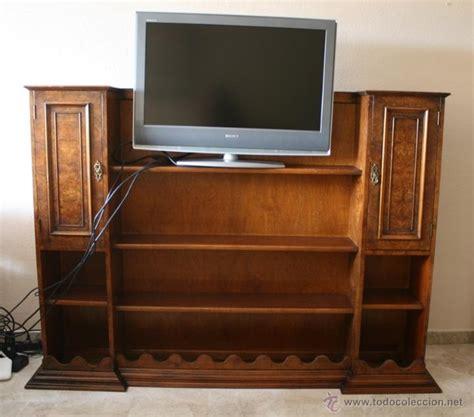 mueble de madera para tv mueble para television en madera de nogal y comprar