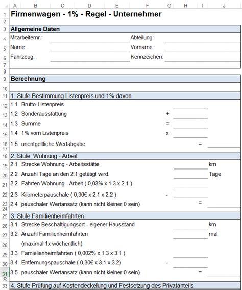 nutzungsvertrag wohnung vorlage formulare zur pkw nutzung und fahrtenbuch