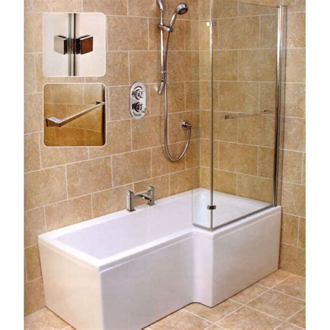 Bath Bathroom by L Shape Shower Bath Right Handed Bathroom City