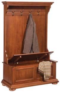Buy Window Seat With Storage - new hall tree bench coat rack entry way mud room wood seat storage hooks oak nib ebay