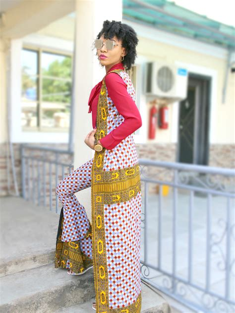 ankara jarket style ankara flare trousers how to wear ankara trousers