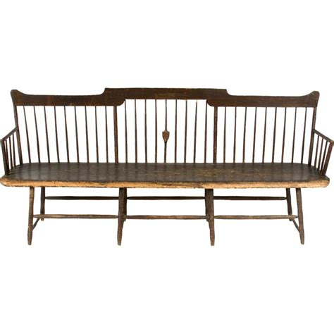 sale settees new hshire settee for sale at 1stdibs