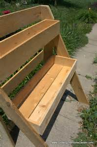 how to build a raised multi leveled garden planter box