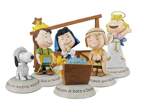 2012 peanuts nativity collection hallmark keepsake