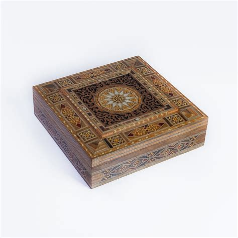 Jewelry Box Handmade - luxury handmade jewelry box beige