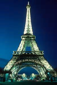 The eiffel tower the eiffel tower captured from