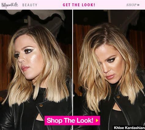 khloe kardashian s new lob hair obsessed november 2015