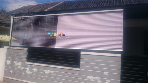 pemasangan horizontal blind  perumahan puri maguwo indah