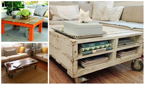 Wooden Pallet Coffee Tables 5 Diy Wooden Pallet Coffee Tables Diy Thought
