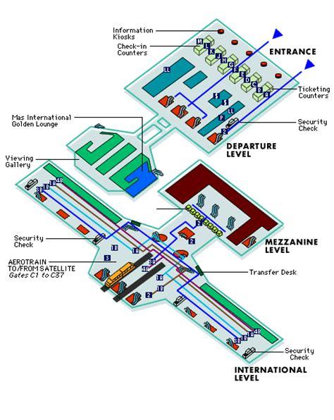 Klia Airport Floor Plan by Klia Floor Plan