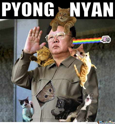 Exhibit Memes - pyong nyan by mustapan meme center