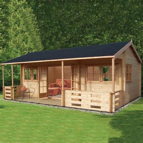 shire kingswood log cabin   ft mm  mm logs