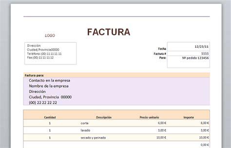 descargar plantillas facturas servicios profesionales aqu 195 173 tienes 20 plantillas para hacer facturas en word