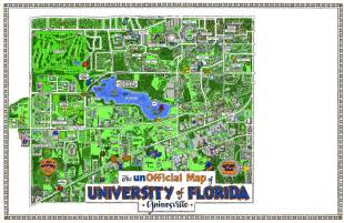 University Of Florida Map university of florida campus map images