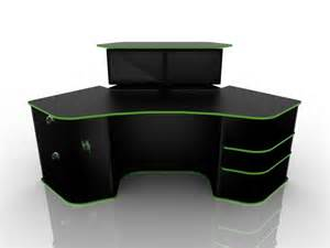 desk for gaming pc 1000 ideas about gaming desk on pc setup