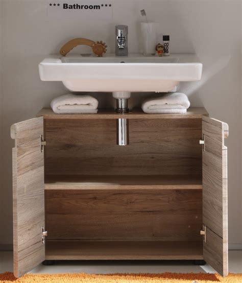 sous meuble lavabo meuble sous lavabo de salle de bain contemporain ch 234 ne clair mileane meuble sous vasque