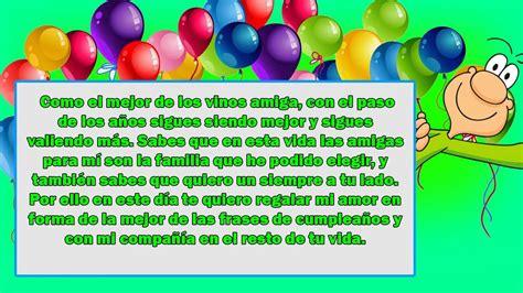 imagenes de cumpleaños para amigas especiales frases de cumplea 241 os para una amiga muy especial y alegre