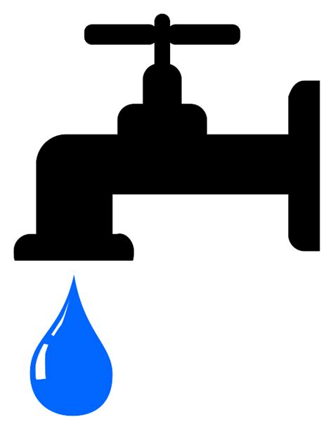 Water Faucet Vector by Water Faucet Clipart Cliparts Co
