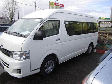 toyota hiace image gallery 2012 toyota hiace