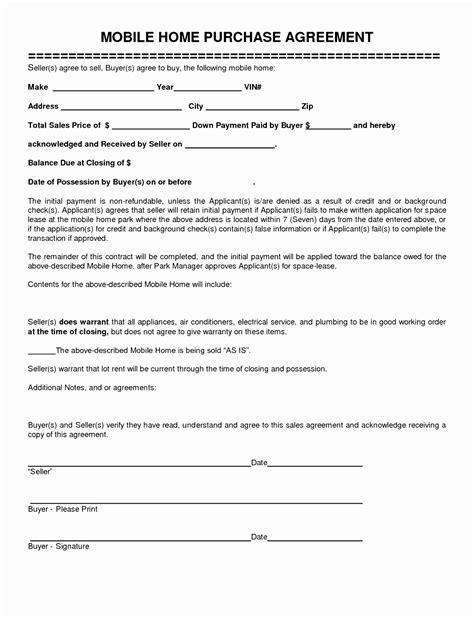 home sale contract template 7 home sale contract template riror templatesz234