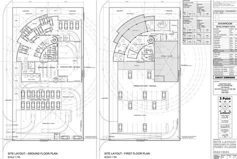 Car Showroom Floor Plan | squadcars showroom floor plans danie joubert