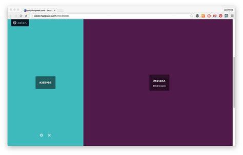 is the color 21 color palette tools for web designers and developers
