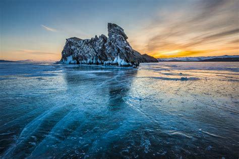 field notes skid marks   frozen lake  siberia