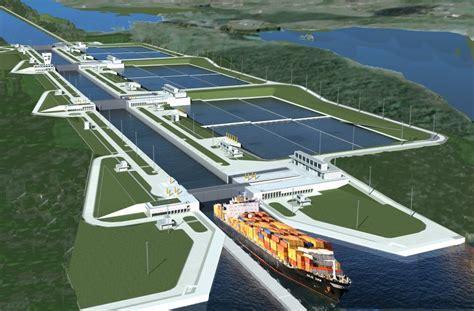 Zen Home Decor Uitbreiding Sluizencomplexen Panamakanaal Nlingenieurs