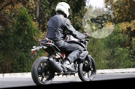 bmw tvs bike upcoming bmw tvs 300cc motorcycle spied testing