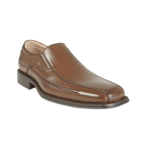 steve madden royal slip on dress shoes in brown for lyst