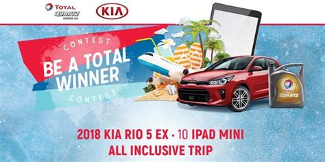Kia Sweepstakes - be a total winner contest promototal com sweepstakes pit
