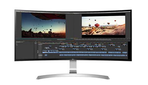 lg uc  curved ultrawide ips display monitor