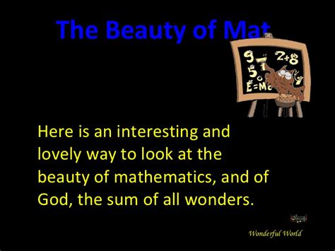 The Mathematics Of the of mathematics