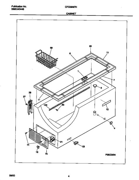 freezer parts diagram 301 moved permanently
