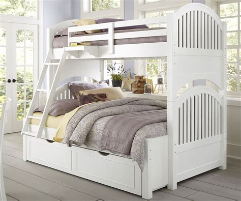 white kids bed bunk bed with trundle kids furniture ideas