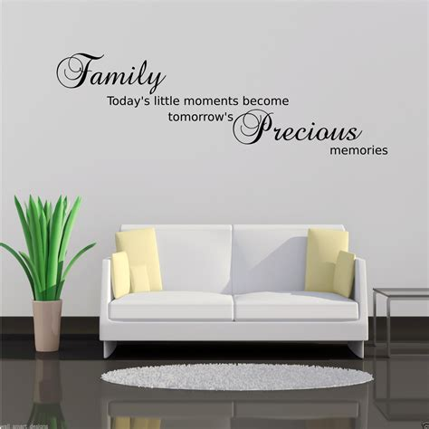 precious moments wall stickers family precious moments wall sticker lounge quote