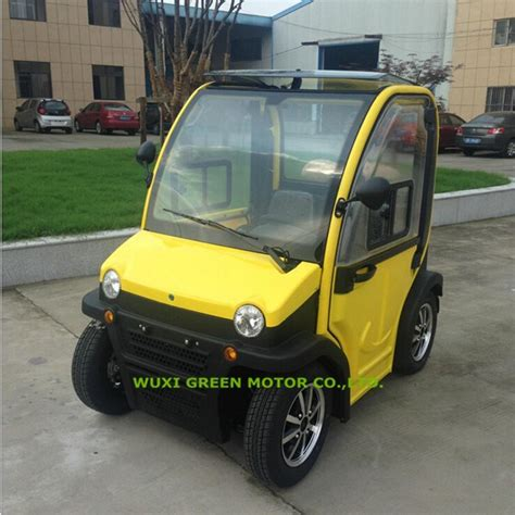 seater electric vehicles  wheel small  car buy