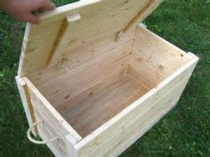 woodwork how to build wood trunk pdf plans