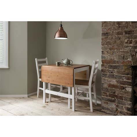 dining table 2 chairs annika drop leaf dining table with 2 chairs noa nani
