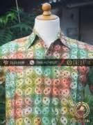 Kain Batik Cap Kain Batik Kontemporer 14 jual kain batik cap warna gradasi motif kontemporer