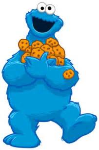 cookie monster 2 clipart
