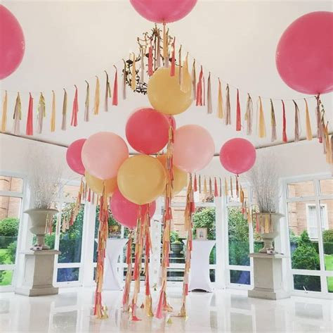 Backyard Wedding Decorations Awesome Balloon Decorations 2017