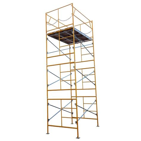 metaltech 4 ft x 4 ft x 2 ft mini rolling scaffold 500