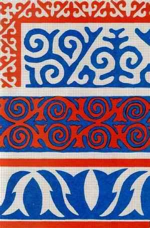 35 best images about kyrgyz ornaments on pinterest   wool