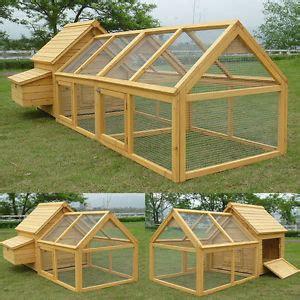 duck hutch plans chicken coop run hen house poultry ark home nest box