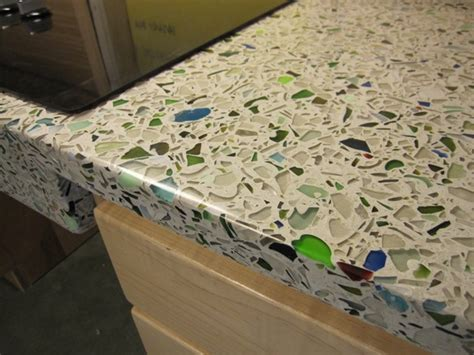 Glass Cement Countertops by Confetti Glass Cement Countertop Do It And How
